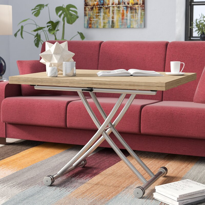 Latitude Run Senter Transforming Coffee Table Reviews Wayfair