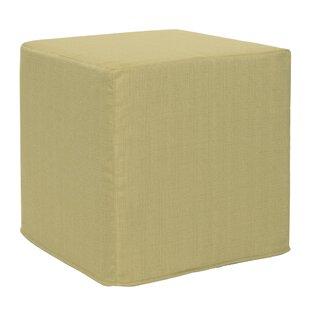 Contreras Sterling Cube Ottoman