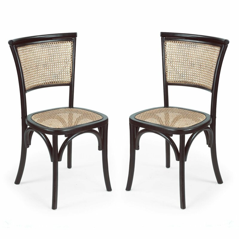 Charmant Dining Cane Side Chair