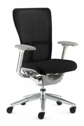 haworth zody high-back mesh desk chair & reviews | wayfair