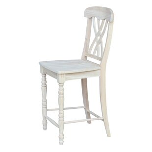 Buy clear Laurier 24 Bar Stool by August Grove Reviews (2019) & Buyer's Guide