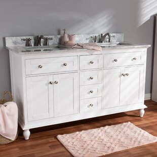 Ruppert 60 Double Bathroom Vanity by Charlton Home