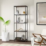 Hera Metal Etagere Bookcase by Mercury Row®