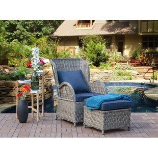 Virginia Patio Chair with Cushion