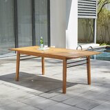 Mcevoy Solid Wood Dining Table