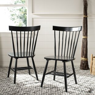 Valdosta Solid Wood Dining Chair (Set of 2) by Three Posts