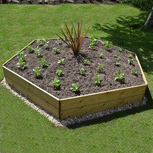 Ondine Wooden Raised Flower Bed Image