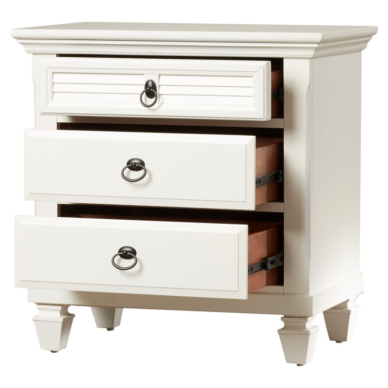 Torin 3 Drawer Nightstand