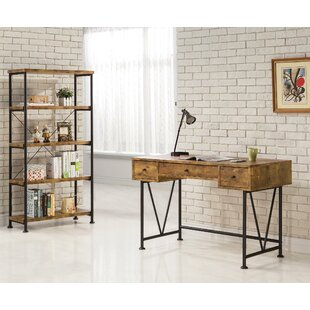 Epineux Writing Desk with Bookcase