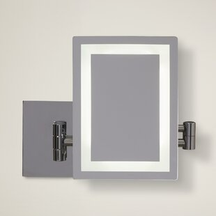 Great Price Rectangle LED Wall Makeup Mirror By American Imaginations