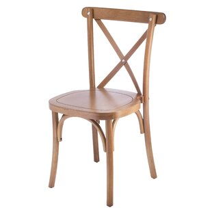 Gambrel Solid Wood Dining Chair (Set of 2..