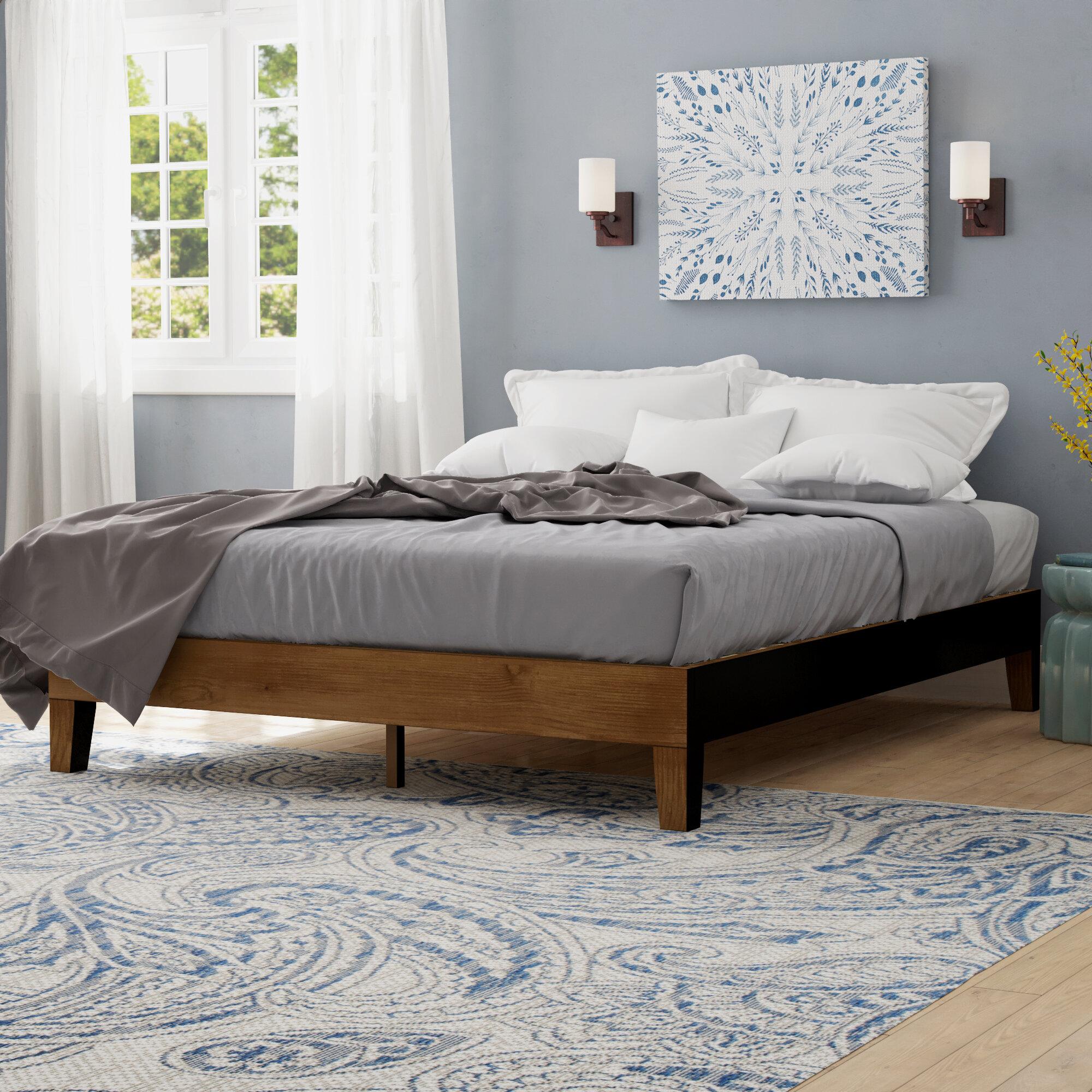 Andover Mills Maxen Low Profile Platform Bed Reviews Wayfair