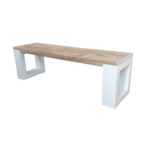 Lenka Wood Bench By Mercury Row
