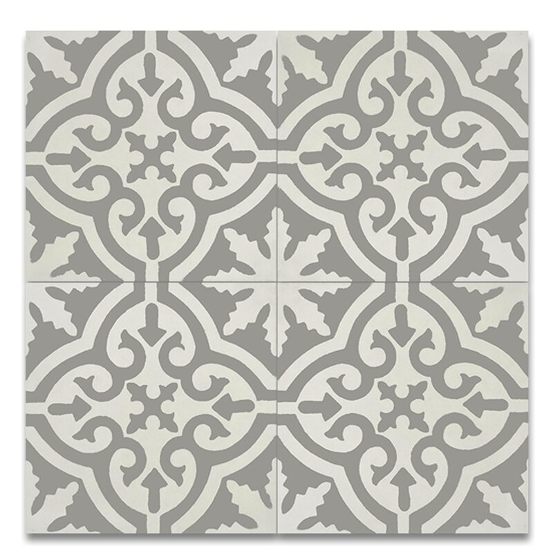 "Argana 8"" x 8"" Cement Field Tile"