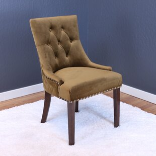 Bernyce Velvet Upholstered Dining Chair Set of 2 by Willa Arlo Interiors