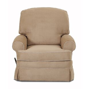Darby Home Co Cortlandt Swivel Reclining Glider