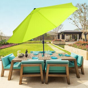Outdoor Umbrella With Lights Patio umbrellas youll love wayfair save to idea board workwithnaturefo