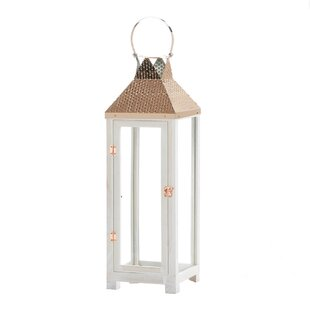 Hartford Wood Lantern by Nikki Chu