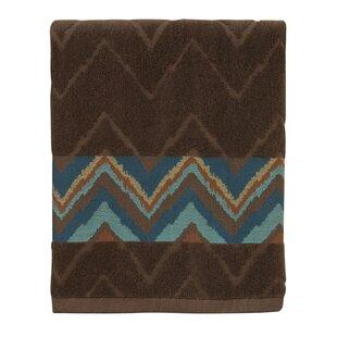 Charee Zigzag 100% Cotton Bath Towel