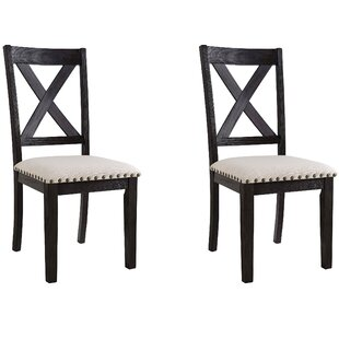 Ferron X-Back Side Chair (Set of 2) Alcott Hill