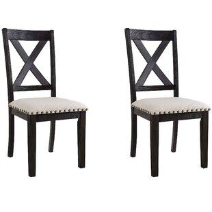 Ferron X-Back Side Chair (Set of 2) by Alcott Hill