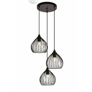 Great choice Mullin 3-Light Cluster Pendant By Wrought Studio