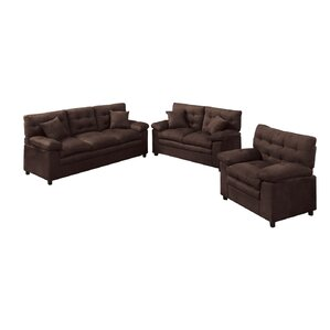 Kingsport 3 Piece Living Room Set