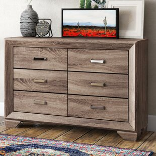 Barnsdall 6 Drawer Double Dresser