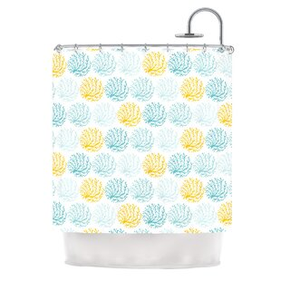Coralina by Anchobee Single Shower Curtain