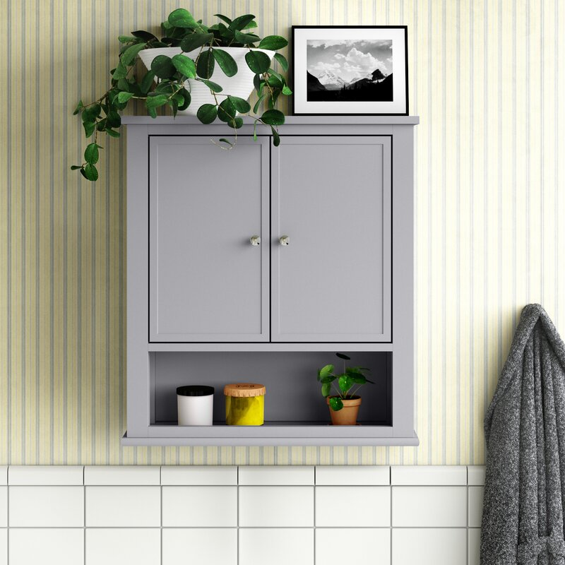 Andover Mills Soderville Wall Mounted Bathroom Cabinet