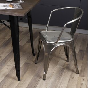 Inexpensive Anni Metal Dining Chair (Set of 2) by 17 Stories