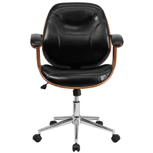 Aida High Back Leather Desk Chair