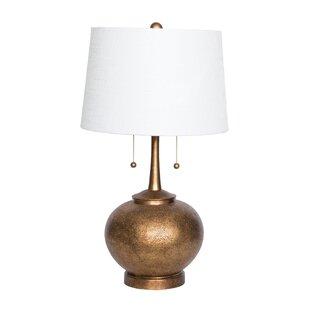 Relatively Hammered Silver Lamp | Wayfair FL07