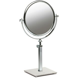 Red Barrel Studio Everton Box Dual Sided Extendable Makeup/Shaving Mirror