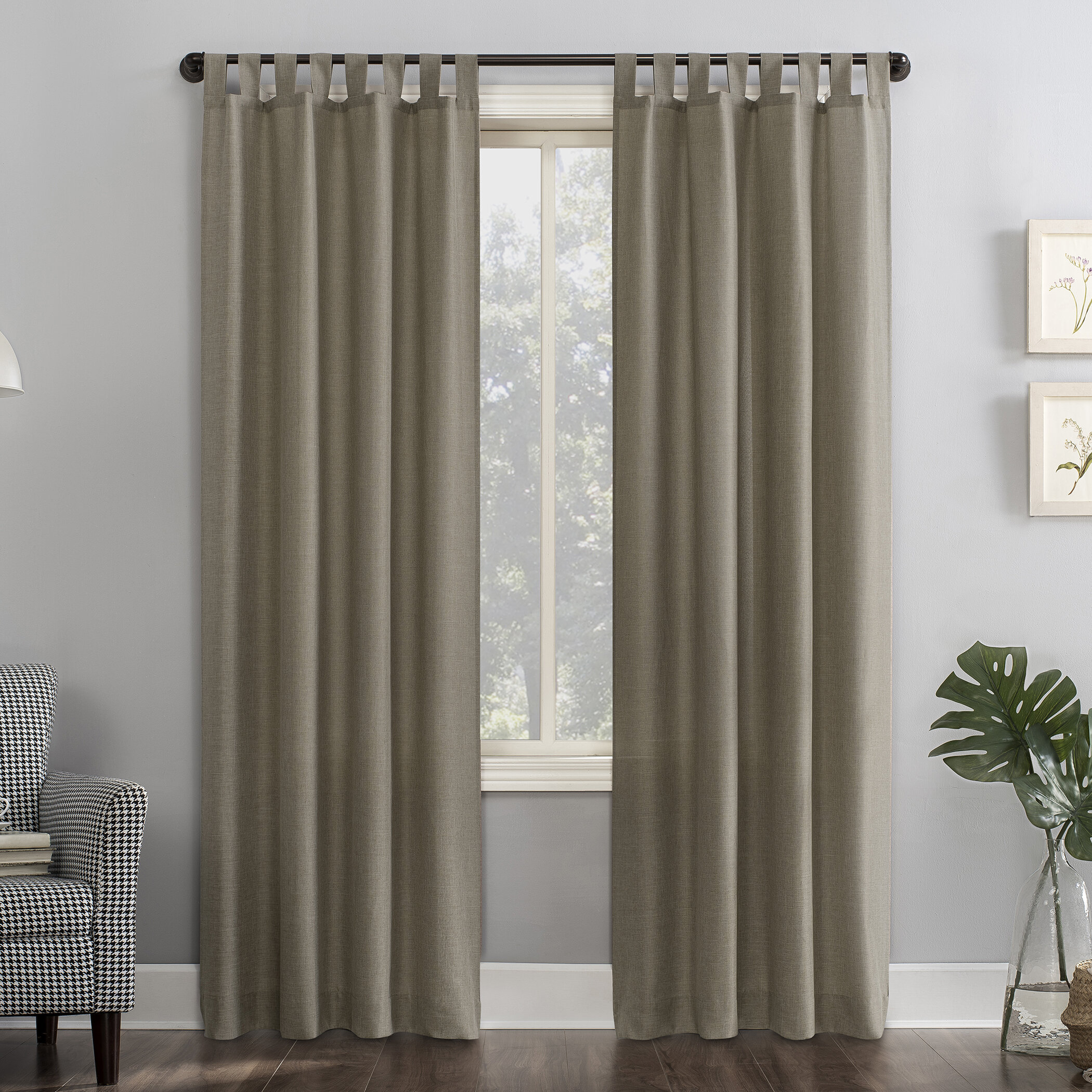 Semi Sheer Curtains Drapes Joss Main