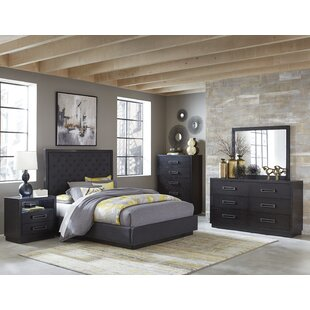 Broadnax Queen Upholstered Panel Bed