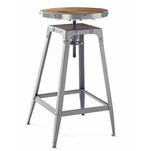 Adeline Height Adjustable Bar Stool By Williston Forge