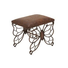 Metal Stool by Woodland Imports