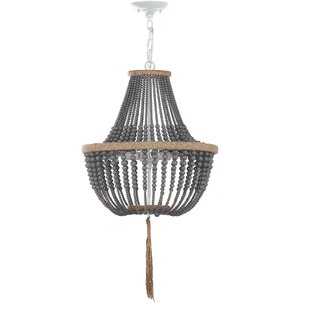 Mistana Lyon 3-Light Empire Chandelier
