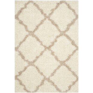Affordable Maya Ivory/Beige Area Rug ByWilla Arlo Interiors