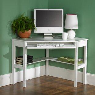 49e6850a11f White Corner Desks You ll Love