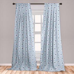Boy Nursery Window Curtains Wayfair