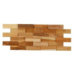 Brick 3D Pattern 215 X 825 Wood Tile In Brown