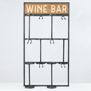Malley 6 Bottle Floor Wine Rack by Ebern Designs