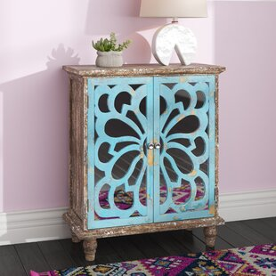 Zinab 2 Door Accent Cabinet by Bungalow Rose