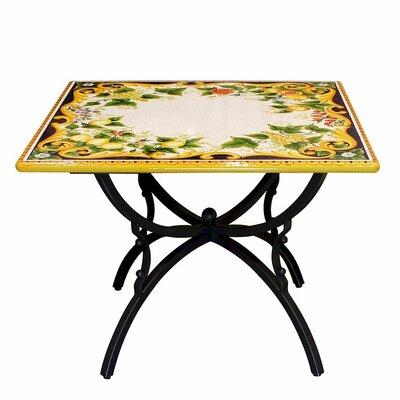 Almendarez Folding Stone Dinning Table by Fleur De Lis Living Modern
