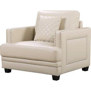 Willa Arlo Interiors Dia Nailhead Club Chair