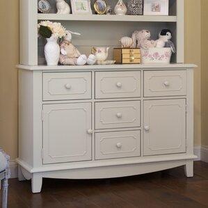 Sullivan Wide 5 Drawer Combo Dresser by Million Dollar Baby Classic