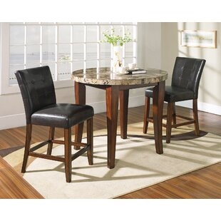 Laverty Counter Height 3 Piece Pub Table Set by Millwood Pines