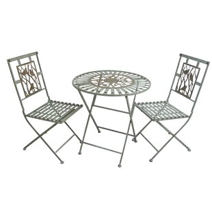 August Grove Superior Birds on Branches 3 Piece Bistro Set